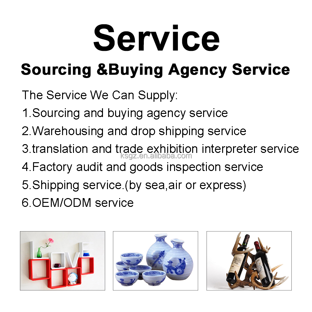 Sourcing and Buying Agent Service for Home Decoration