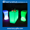 Rank TOP Bar furniture LED high bar table battery operated color changing led bar table