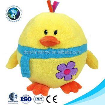 2018 New Kids Toy Easter Chick Soft Toy Wholesale Cheap Custom