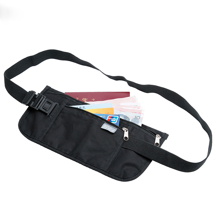 Travelsky 1352401 Portable light waterproof RFID sport waist bag
