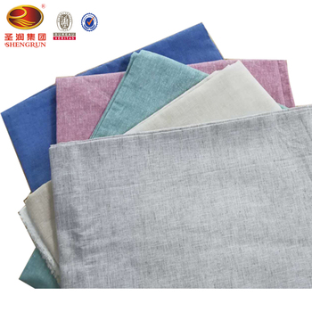 Wholesale cotton linen fabric yarn dyed fabric