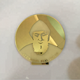 Excellent Gold Mirror Acrylic Memorial Medal for Prayer Divine Saint Icon/Portrait with Mirror Acrylic Holder