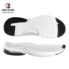 Wholesale Sport Injection EVA And Air Cushion Running White Sole