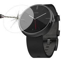 0.3mm 2.5D high-clear tempered glass screen protector for motorola moto 360 2nd generation 42mm 46mm smart watch