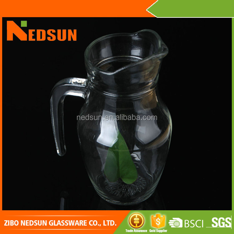 High demand export products 550ml Low cost small glass pitcher made in china