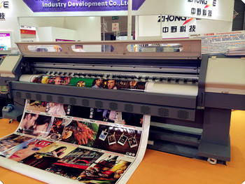 a0065d4e5 3.2m wide large format printing machine with konica512i print head for flex  banner