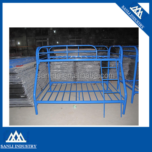 Blue Metal Triple Children Sleeper Bunk Bed Frame Buy Bunk Bed No