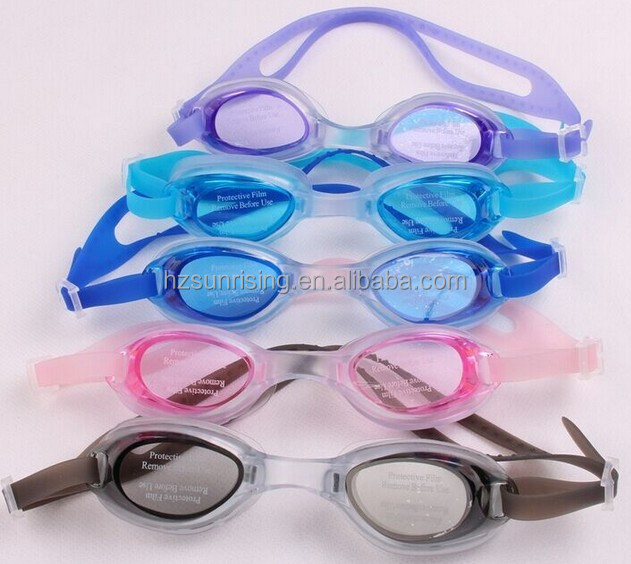 waterproof antifog silicone swimming goggles for swimming