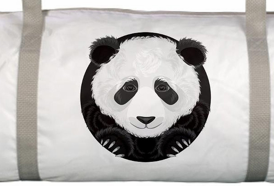 Gym Bag Panda Bear - Buy Woman Travel Bag c63bfccd47c8f