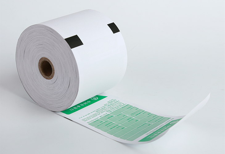 custom printed perfect ATM cash register thermal paper roll 80*80MM