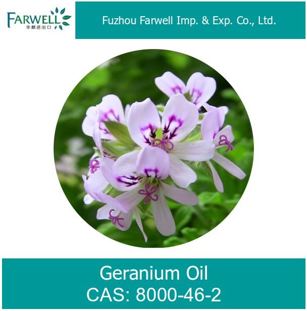 Farwell 100% натуральная Герань масло от надежного поставщика 8000-46-2