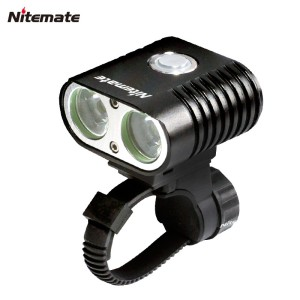 High quality 2000 lumen high brightness dynamo bicycle light usb chargeable bike light