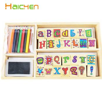 Personalized Rubber Craft Alphabet Stamps With Ink Pad Buy Stamps With Ink Pad Personalized Stamps Alphabet Stamps With Ink Pad Product On