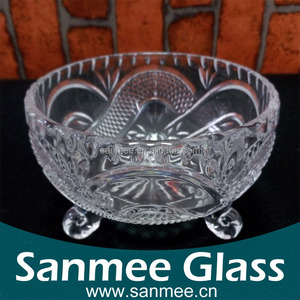 high Quality Low Price Fashion Glass Round Bowl,Crystal Glass Bowl