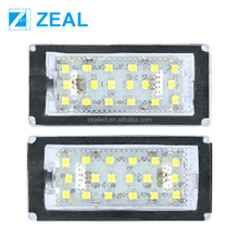 18SMD LED License Plate Light For B.MW E46 2D Coupe facelifted,E46 M3 facelifted 2004.2006
