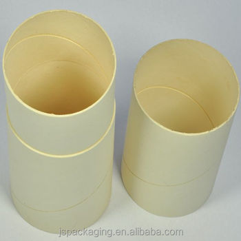 Empty plain simple kraft brown craft extra strong paper for Kraft paper craft tubes