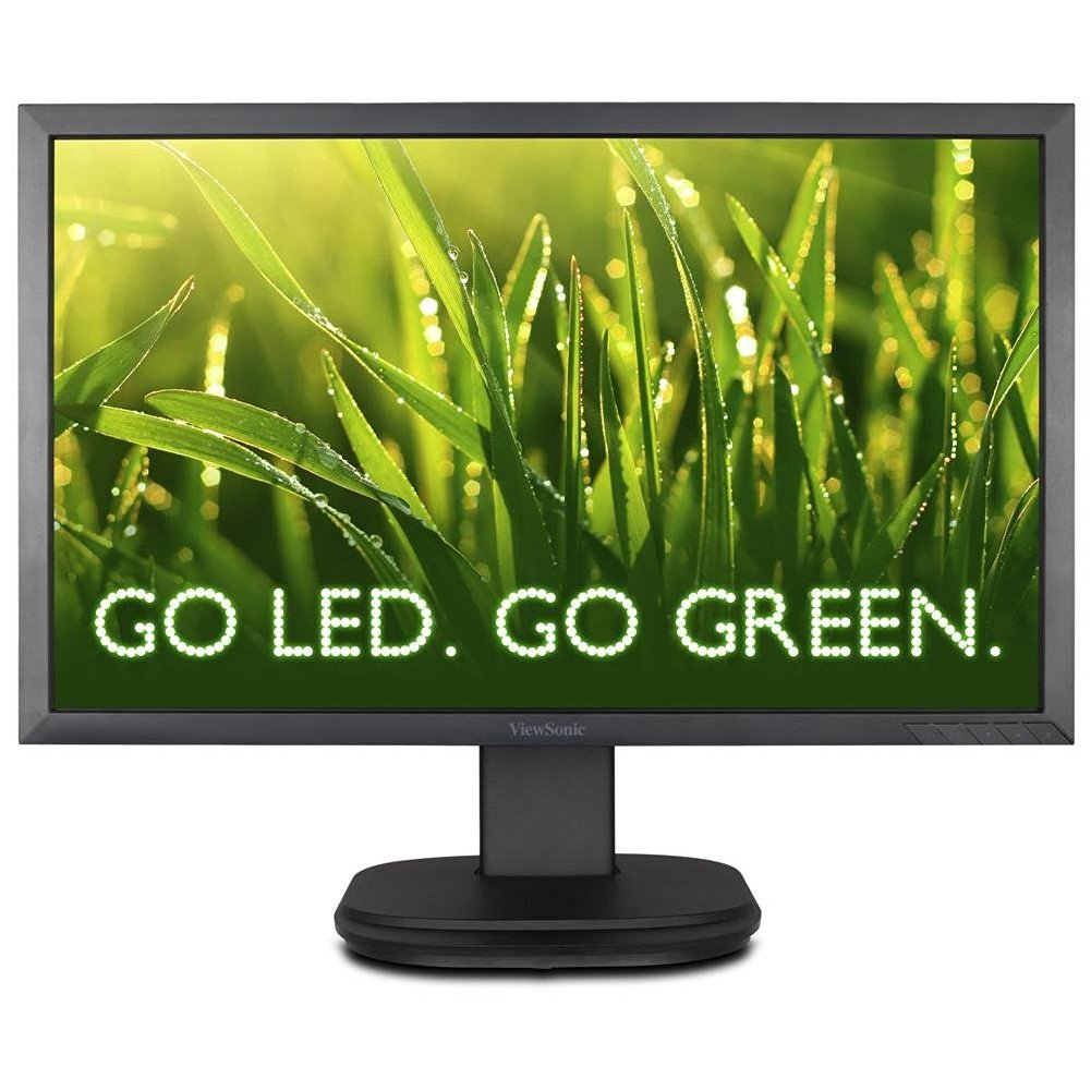 "Viewsonic VG2439m-TAA 24"" LED LCD Monitor - 16:9 - 5 ms - Adjustable Display Angle - 1920 x 1080 - 300 Nit - 1,000:1 - Speakers - DVI - VGA - USB - Black - TCO, ENERGY STAR, EPEAT Gold, WEEE, RoHS"