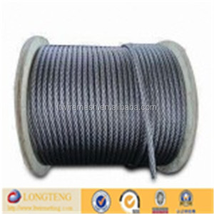 ASTM standard ISO certification 1x7 Stainless Steel Wire Rope