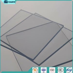 Fine Light Transmission Dome Weather Proof Solid Pc Sheet
