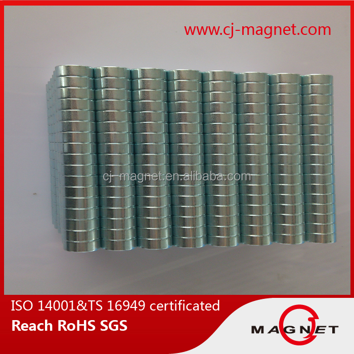 strength Disc Neodymium Magnet for Home Decor in china