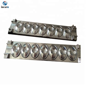 incense moulds Chinese ingot shaped with high precision cnc milling