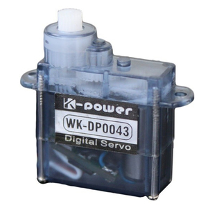 K-power DP0043 4.3g RC Digital MICRO Engine Servo with Plastic Gear for RC Car Airplane Model