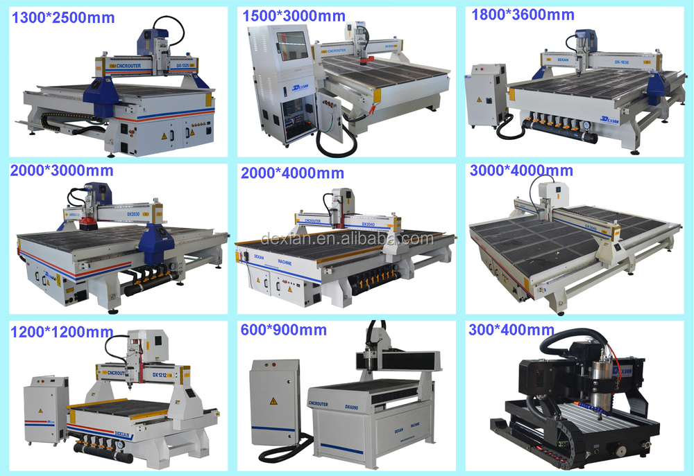 T Slot Working Table Cheap Cnc Router Wood Carving Machine For Sale