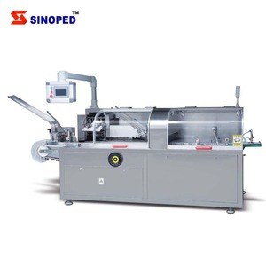 Automatic Bottle Vial Cartoning Machine