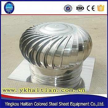 2017 hot sale manufacture turbine roof ventilation exhaust