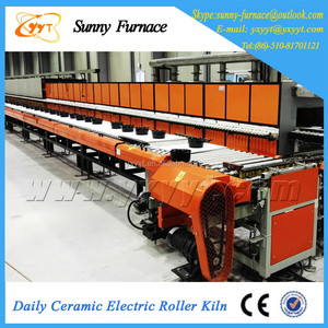 Professional Manufactures Fuel Gas Roller Kiln For Ceramic Tiles