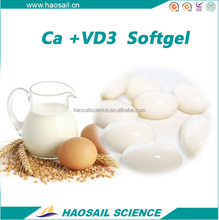 PHARMACEUTICAL GRADE CALCIUM VITAMIN D3 SOFTGEL CAPSULES BULK OEM PRIVATE LABEL