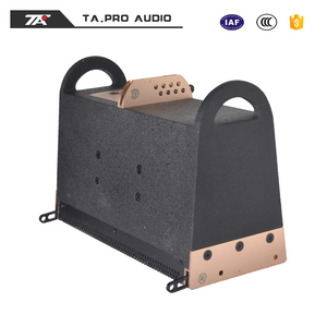 Harga empty box sound full range line array active system for wedding