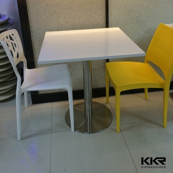 KKR Solid Surface Acrylic Cafe Table Chair Shet, Coffee Table And Chairs Part 56