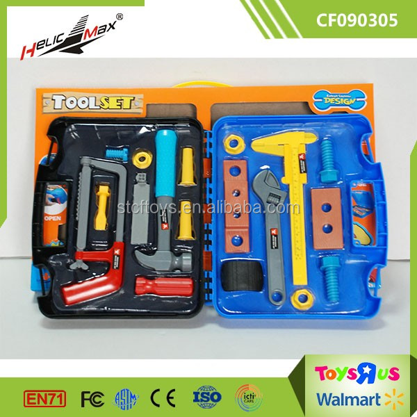 Maintenance Man Play Pretend Toy Mechanical Handy Multi Tool Set for Kids