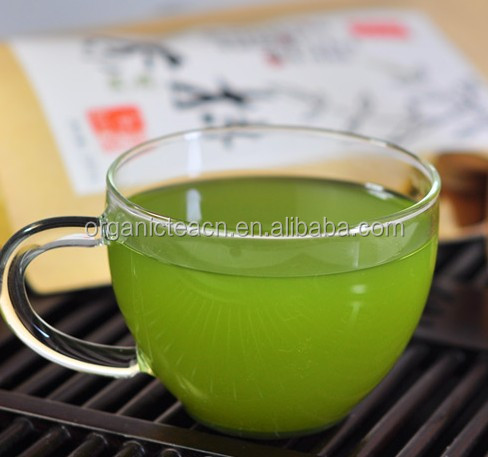 100% pure natural instant powdered green tea matcha which is organic