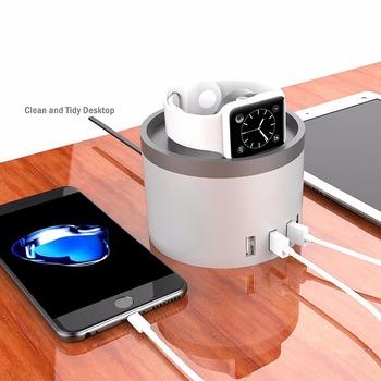 Usb Charging Station Dock Organizer For Smartphones Tablets Other Gadgets Multiple Charger