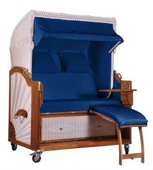 Rieten Strandstoel 2 Pers.2 1 2 Zits Strandstoel Sylt Rotan Rieten Teakhouten Tuin Buy Strandstoel Product On Alibaba Com