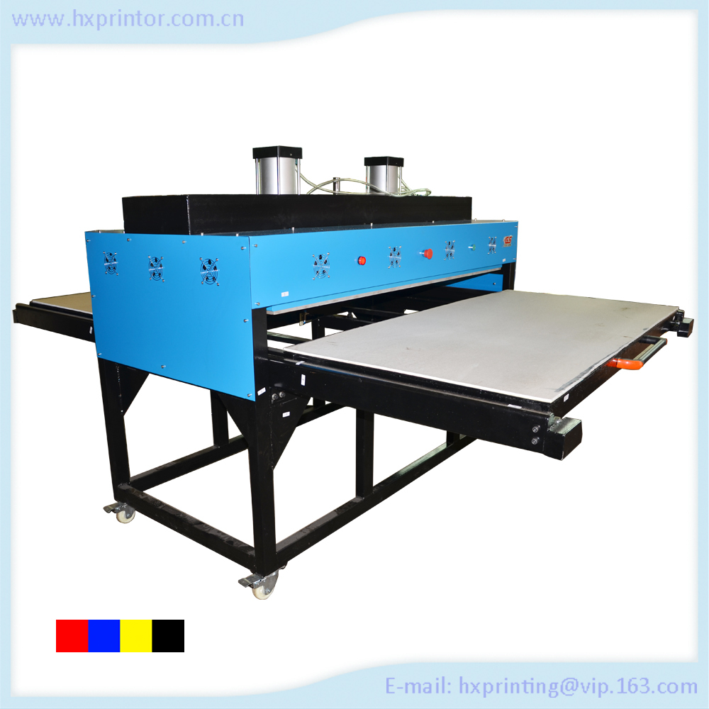 Digital Automatic Large Format Sublimation Double Station Heat Press Machine,Fabric Heat Printing