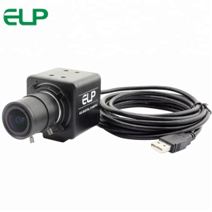 ELP 5-50mm Varifocal Lens 8 MegaPixels Sony IMX179 Color Sensor Mini HD CCTV Surveillance Mini USB Video Conference Camera