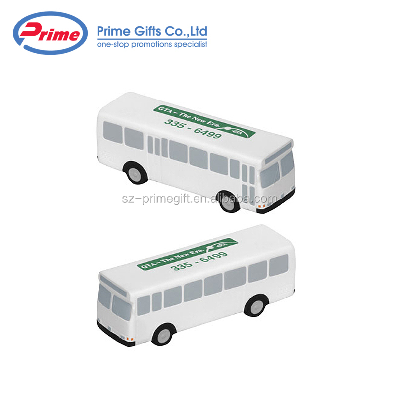 Bus Shaped Stress Reliever Toy