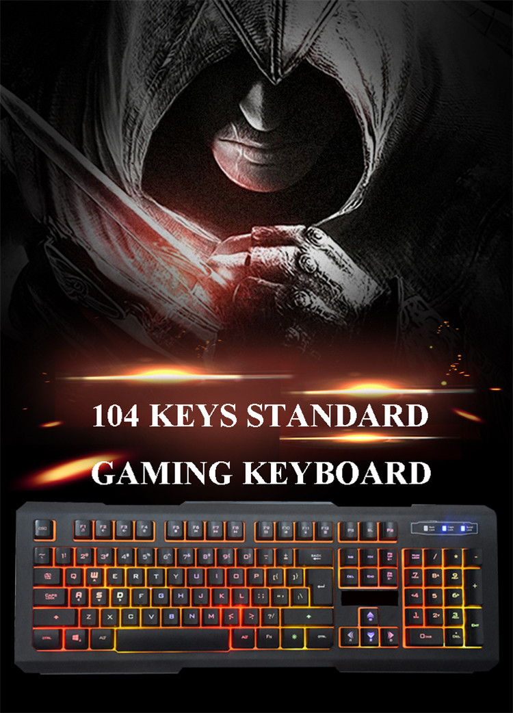 hot selling best rgb keyboard 2016