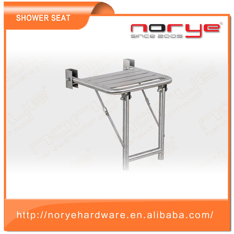 2017 Hot Sale Stainless Steel Shower Seat Wall Mounted Folding With ...