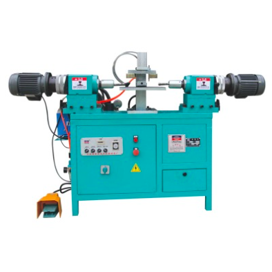 Hydraulic horizontal double head riveting machine
