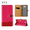 For ZTE Blade A510 cases smartphones metal magnetic flip leather case for ZTE Blade A510