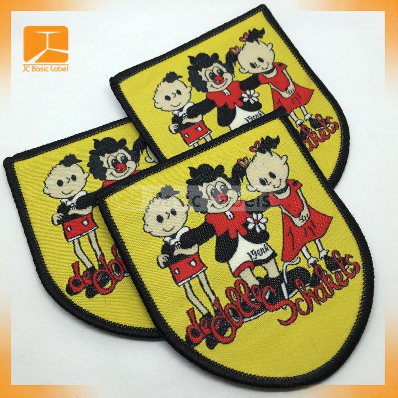 Hot Sale Logo Embroidery Woven Patch/Wappen