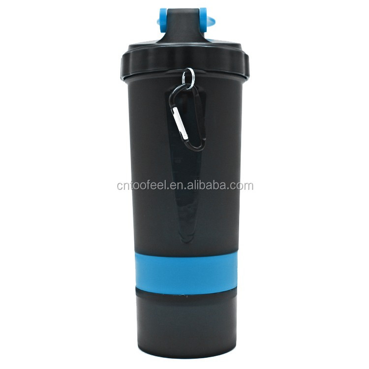 BPA free Plastic 600ml Joyshak sports water bottle custom protein shaker bottle
