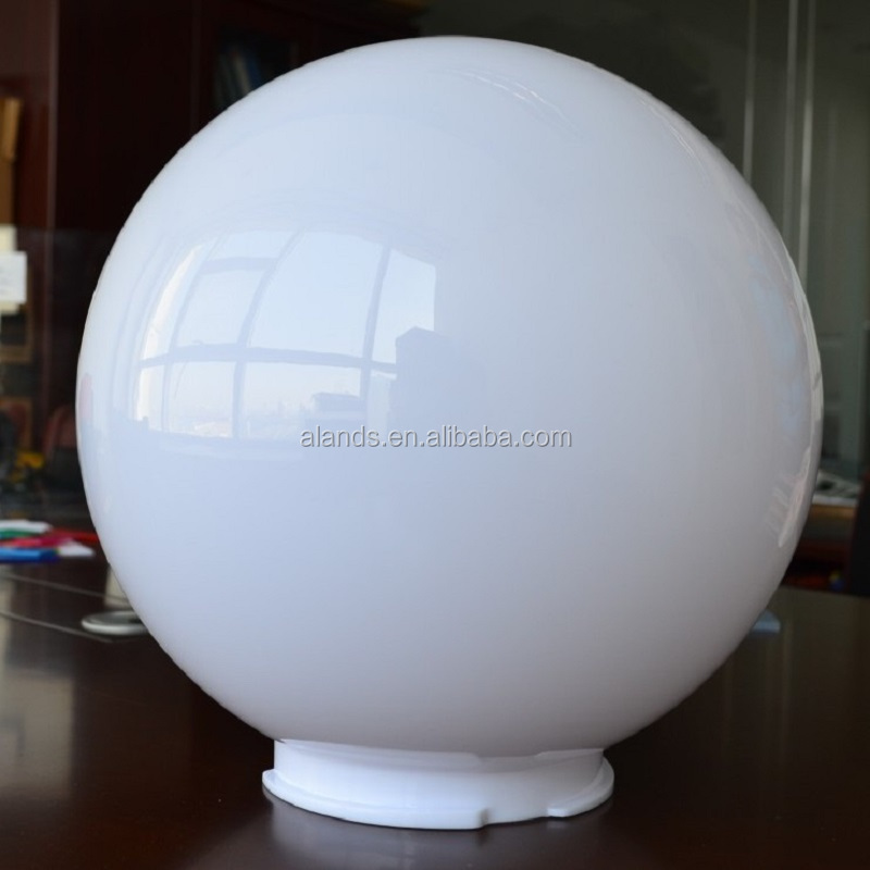 plastic acrylic lampshade acrylic globe for lampshade Outdoor used