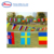 2020 Russia World Cup Celebration National String Flags/ Bunting Flag Triangle