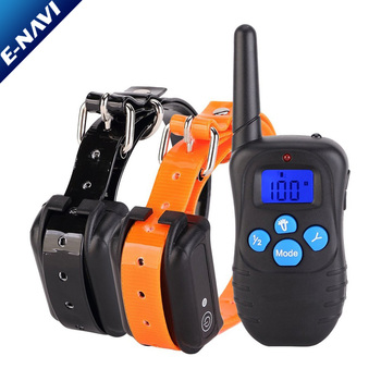 100% Waterproof and Rechargeable Dog Shock Collar 330 yd Remote Dog Training Collar with Beep/Vibrating/Shock Electric E-Collar