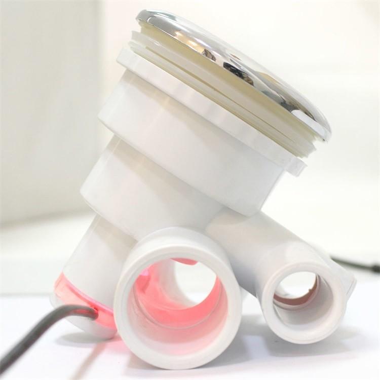 chaude tube abs ip68 led lumi re sous marine mutil couleur baignoire avec led lumi re de massage. Black Bedroom Furniture Sets. Home Design Ideas